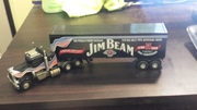 MATCHBOX JIM BEAM 200TH ANNIVERSARY DIECAST PETERBILT TRAILER RIG Free post