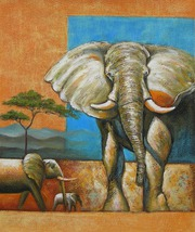 Animals Oil Paintings For Sale