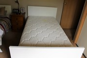 Single king size bed
