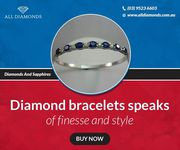 Explore Bespoke Collection of Diamond Bracelets in Melbourne