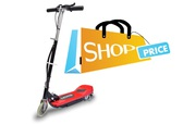 Electric Scooter with Seat 120W Black