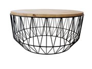 Modern and Contemporary Hexagon Coffee Table