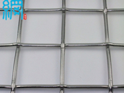 Lock crimped wire mesh