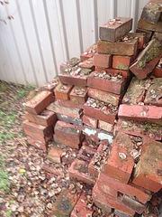Bricks solid red used