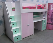Buy Loft Bed with Desks and Stairs in Australia