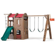 Kids Outdoor Plastic Swing Sets For Toddlers Available At Step2 Direct