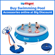 Buy Swimming Pool Accessories online at Big Discount