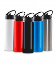 Shop For Personalized 750ml Aluminium Water Bottle With Straw | Vivid