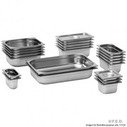 GN13100 1/3 X 100 mm Gastronorm Pan Australian Style