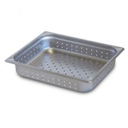Robinox Perforated Steam Table Pan - 1/2 Size,  65mm Deep Z12065-P