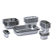 Mixrite Gn Pans (201 Stainless Steel) 650X530X40 21040
