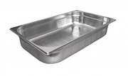 1/1 Bain Marie Trays,  100mm Gastronorm Pans Steam Perforated Pans