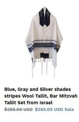 Avail premium quality tailored Tallit according to your preferences