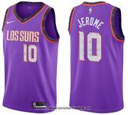 Phoenix Suns Ty Jerome NO 10 City 2019-20 Violet