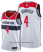Washington Wizards Admiral Schofield NO 4 Association 2019-20 White