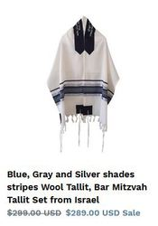Finding Bar Mitzvah Tallit has never been this easy. Explore!