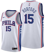 Philadelphia 76ers Al Horford NO 15 Association White Jersey